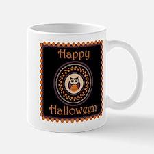 Halloween Owl Mugs