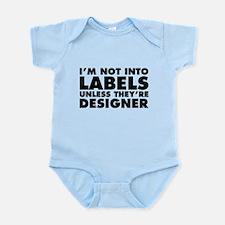 Not Into Labels Unless Designer Infant Bodysuit
