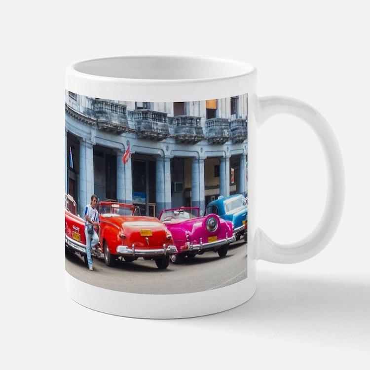 Cars of Havana Mugs