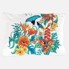 Tropical Flowers Pillow Case