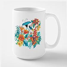 Tropical Flowers Mugs