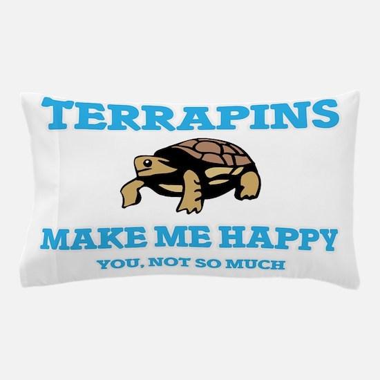 Terrapins Make Me Happy Pillow Case