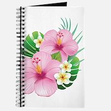Dual Pink Hibiscus Journal