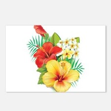 Tropical Hibiscus Postcards (Package of 8)