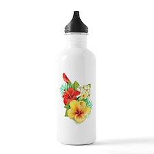 Tropical Hibiscus Water Bottle