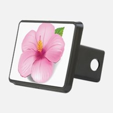 Pink Hibiscus Hitch Cover
