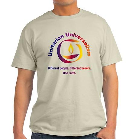 Rainbow Chalice_one faith Light T-Shirt