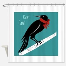 Caw Caw Shower Curtain