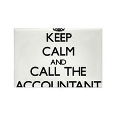 Keep calm and call the Accountant Magnets