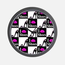 SHOE GIRL Wall Clock