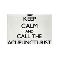 Keep calm and call the Acupuncturist Magnets
