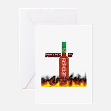 Cute Sriracha Greeting Card