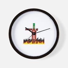 Cute Hot sauce Wall Clock