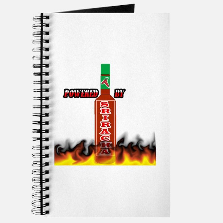Cute Sriracha Journal
