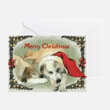 Grear Pyrenees Merry Christmas Cards [Pack of 6]