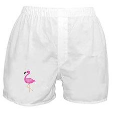 Bubblegum Pink Flamingo Boxer Shorts