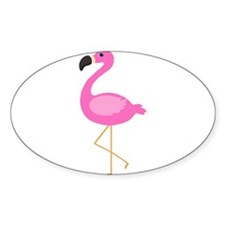 Bubblegum Pink Flamingo Decal