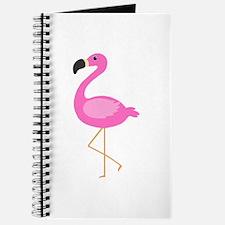 Bubblegum Pink Flamingo Journal