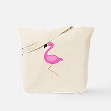 Bubblegum Pink Flamingo Tote Bag