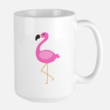 Bubblegum Pink Flamingo Mugs