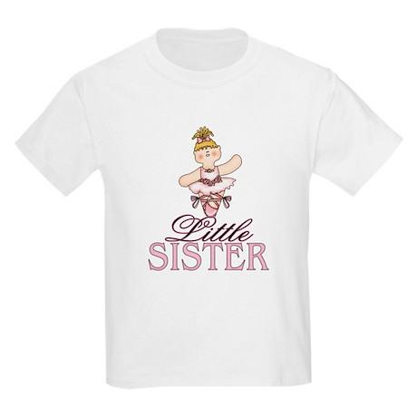 Ballerina Little Sister Kids Light T-Shirt