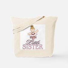 Ballerina Little Sister Tote Bag