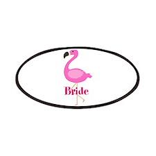 Bride Pink Flamingo Patches