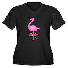 Bride Pink Flamingo Plus Size T-Shirt
