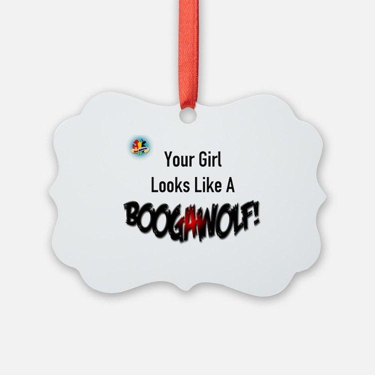 Boogawolf Ornament