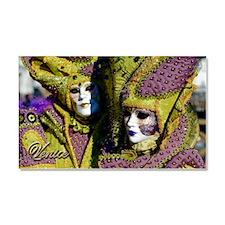 Colorful Couple Car Magnet 20 x 12