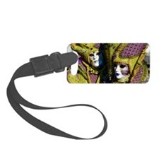 Colorful Couple Luggage Tag