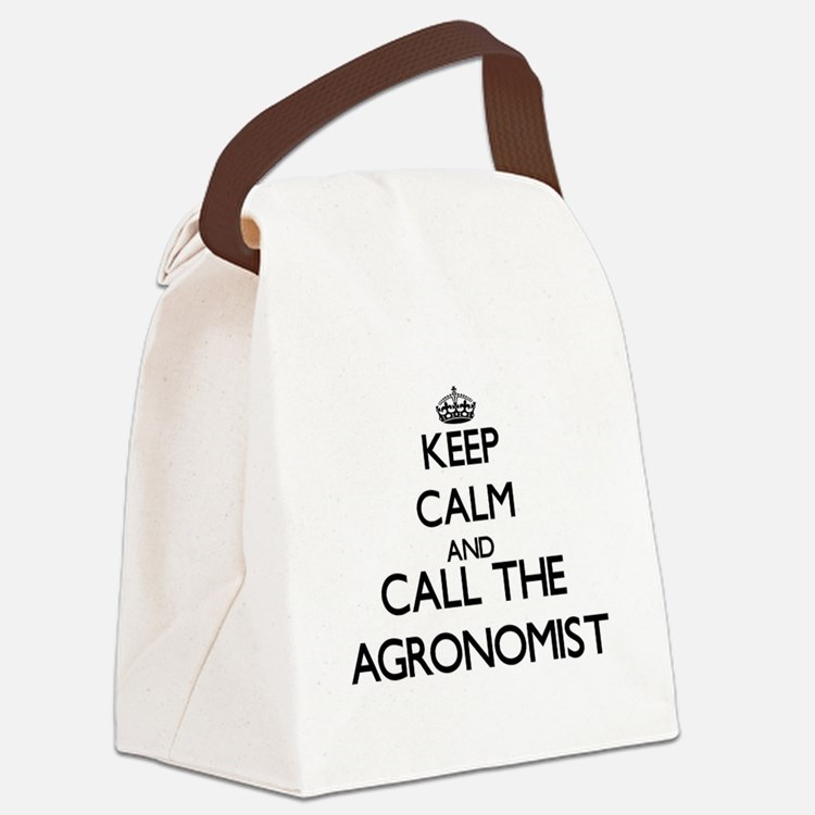 Cute Agriculture Canvas Lunch Bag