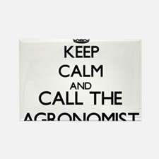 Keep calm and call the Agronomist Magnets