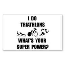 Funny Triathlon Decal