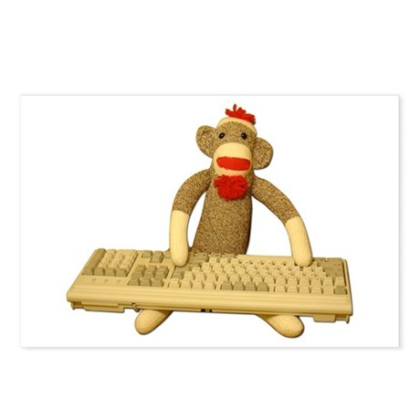 Code Sock Monkey Postcards (8)