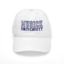 MUSICK University Baseball Cap