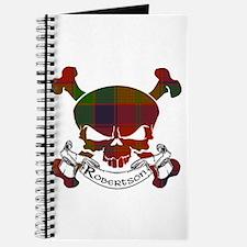 Robertson Tartan Skull Journal