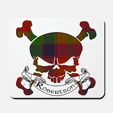 Robertson Tartan Skull Mousepad