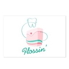 Flossin Postcards (Package of 8)