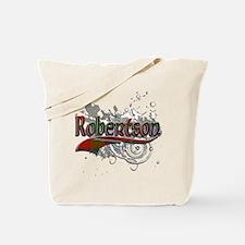 Robertson Tartan Grunge Tote Bag