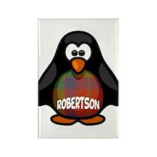 Robertson Tartan Penguin Rectangle Magnet