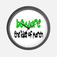 Ides of March Wall Clock