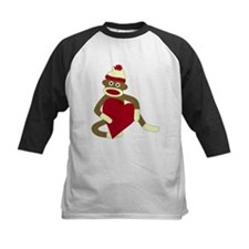 Sock Monkey Love Heart Tee