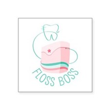 Floss Boss Sticker