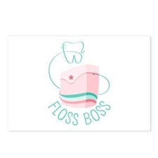 Floss Boss Postcards (Package of 8)