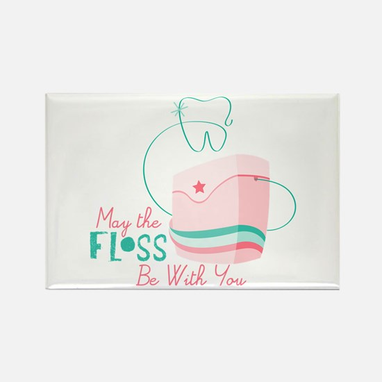 Floss be with You Magnets