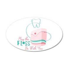Floss be with You Wall Decal