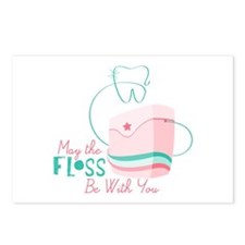 Floss be with You Postcards (Package of 8)