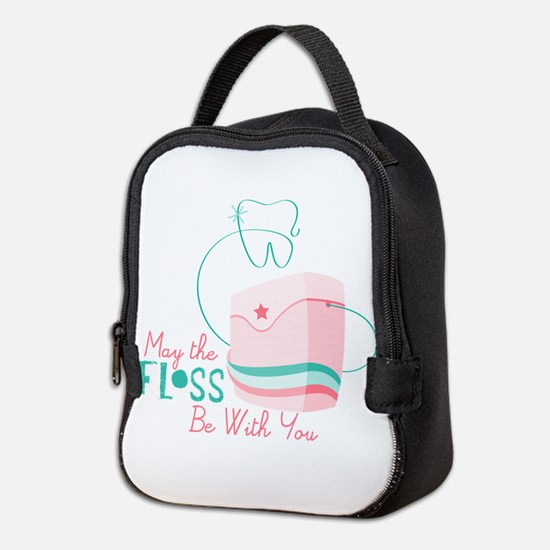 Floss be with You Neoprene Lunch Bag