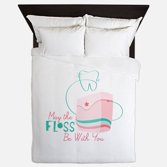 Floss be with You Queen Duvet